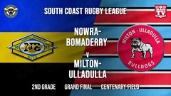 Group 7 RL Grand Final - 2nd Grade - Nowra-Bomaderry  v Milton-Ulladulla Bulldogs Slate Image