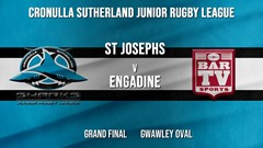 Cronulla JRL Grand Final - U/9s Silver - St Josephs v Engadine Dragons (1) Slate Image