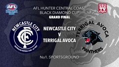 AFL HCC Grand Final - Cup - Terrigal Avoca Panthers v Newcastle City  Slate Image