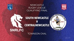 Newcastle Rugby League Qualifying Final - 1st Grade - South Newcastle v Central Newcastle Slate Image