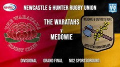 NHRU Grand Final - Divisional - The Waratahs v Medowie Marouders Slate Image