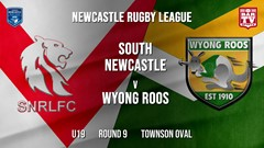 Newcastle Rugby League Round 9 - U19 - South Newcastle v Wyong Roos Slate Image