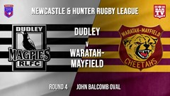 NHRL Round 4 - B Grade - Dudley Magpies v Waratah-Mayfield Slate Image