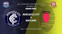 AFL HCC Grand Final - Womens - Newcastle City  v Maitland Saints Slate Image