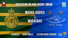 Southern Inland Rugby Union Semi Finals - Womens - Wagga Agricultural College v Wagga Waratahs Slate Image