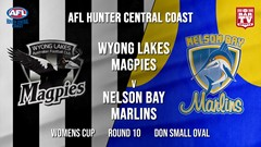 AFL HCC Round 10 - Womens Cup - Wyong Lakes Magpies v Nelson Bay Slate Image