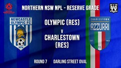 NPL NNSW RES Round 7 - Newcastle Olympic (Res) v Charlestown Azzurri FC (Res) Slate Image