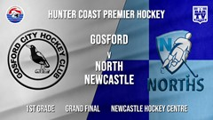 Hunter Coast Premier Hockey Grand Final - 1st Grade - Gosford Magpies v North Newcastle Slate Image