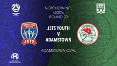 NPL Youth - Northern NSW Round 20 - Newcastle Jets FC U20 v Adamstown Rosebud FC U20 Slate Image