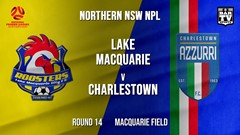 NPL - NNSW Round 14 - Lake Macquarie City FC v Charlestown Azzurri Slate Image