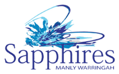 Manly Warringah Sapphires Logo