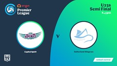 NSW Prem League Play-off - U23s - Capital Spirit v Sutherland Stingrays Slate Image