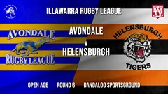 IRL Round 6 - Open Age - Avondale RLFC v Helensburgh Tigers Slate Image