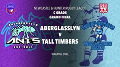 2019 Newcastle and Hunter RL Grand Final - Aberglassyn Ants v Tall Timbers Slate Image