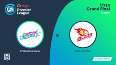 NSW Prem League Grand Final - U23s - UTS Randwick Sparks v South Coast Blaze Slate Image