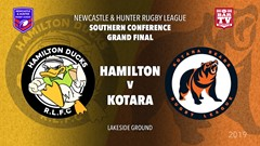 2019 Newcastle and Hunter RL Grand Final - Hamilton Ducks v Kotara Bears Slate Image