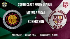 Group 7 RL Grand Final - 3rd Grade - Mt Warrigal Kooris v Robertson Spuddies Slate Image