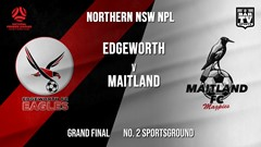 NPL - NNSW Grand Final - Edgeworth Eagles FC v Maitland FC (1) Slate Image