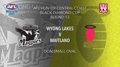 AFL HCC Round 13 - Cup - Wyong Lakes Magpies v Maitland Saints Slate Image