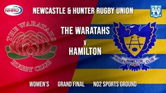 NHRU Grand Final - Women's - The Waratahs v Hamilton Hawks Slate Image