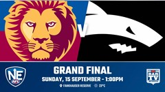 NEAFL Grand Final - Brisbane Lions v Southport Sharks Slate Image