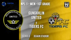 NPL - CAPITAL Series 3 - Gungahlin United FC v Tigers FC Slate Image
