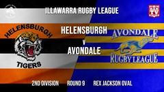 IRL Round 9 - 2nd Division - Helensburgh Tigers v Avondale RLFC Slate Image