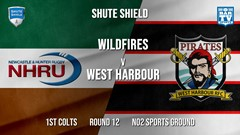 Shute Shield Round 12 - 1st Colts - NHRU Wildfires v West Harbour Slate Image