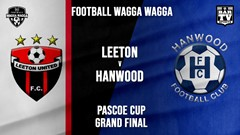 Football Wagga Wagga Grand Final - Leeton United v Hanwood FC Slate Image