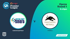NSW Prem League Round 1 - Showcourt - Opens - Central Coast Heart v Panthers Slate Image
