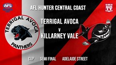 AFL HCC Semi Final - Cup - Terrigal Avoca Panthers v Killarney Vale Bombers Slate Image