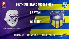Southern Inland Rugby Union Grand Final - 2nd Grade - Leeton Phantoms v Albury Steamers Slate Image