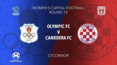 NPL Women - Capital Round 12 - Canberra Olympic FC (women) v Canberra FC (women) Slate Image