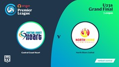 NSW Prem League 3rd Place Playoff - U23s - Central Coast Heart v North Shore United Slate Image