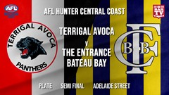 AFL HCC Semi Final - Plate - Terrigal Avoca Panthers v The Entrance Bateau Bay Slate Image