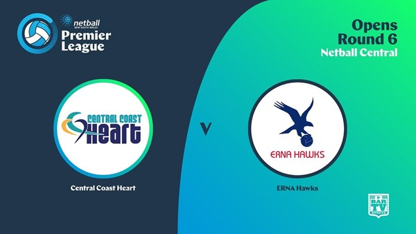 NSW Prem League Round 6 - Opens - Central Coast Heart v Erna Hawks Slate Image