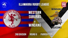 IRL Round 8 - 2nd Division - Western Suburbs Devils v Windang Pelicans Slate Image