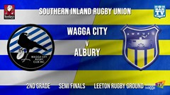 Southern Inland Rugby Union Semi Finals - 2nd Grade - Wagga City v Albury Steamers Slate Image