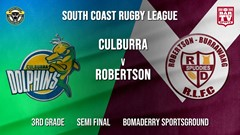 Group 7 RL Semi Final - 3rd Grade - Culburra Dolphins v Robertson Spuddies Slate Image