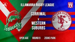IRL Round 9 - Open Age - Corrimal Cougars v Western Suburbs Devils Slate Image