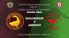 Group 7 South Coast Rugby League Grand Final - LLT2 - Shellharbour Sharks v Jamberoo Slate Image