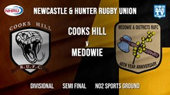 NHRU Semi Final - Divisional - Cooks Hill Brownies v Medowie Marouders Slate Image